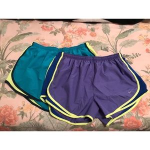Pair of Nike Dri-fit running sport shorts